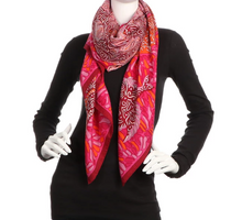 Load image into Gallery viewer, lenvie-de-luxe - HERMÈS La Legende du Poisson Corail Cashmere Silk Shawl - Hermès - Scarves