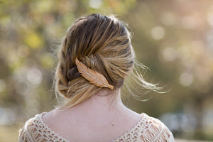 Goddess Feather Hair Clip