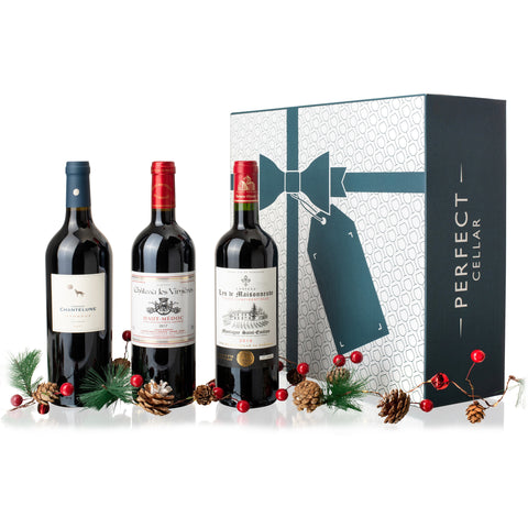 The Perfect Gift Box (All Red 3 bottles)