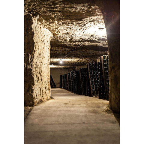 The caves of Domaine Le Capitaine