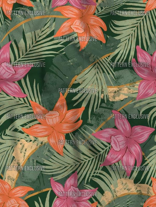 Botanico27_Tropical - PatternExclusive