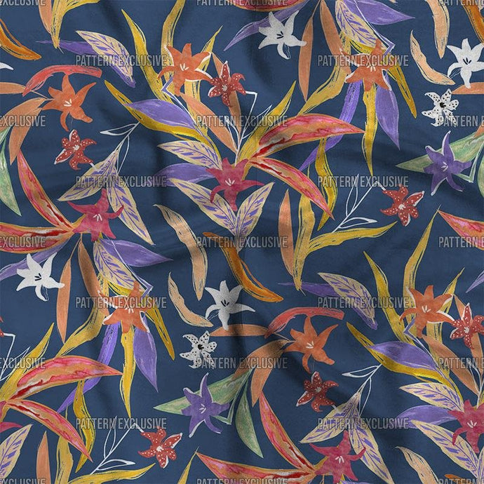 Floral Sutil08_Lilly - PatternExclusive