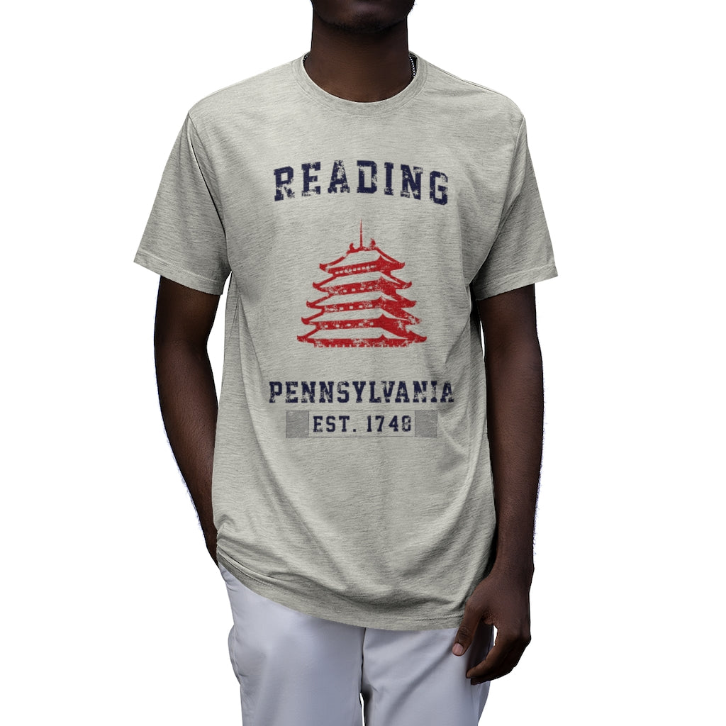 Reading Athletic - Men's Tri-Blend T-Shirt