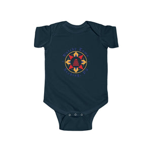Dutchy Town Reading Logo - Infant Fine Jersey Bodysuit