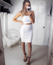 Load image into Gallery viewer, 'Lola' Choker Split Dress