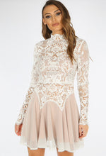 Load image into Gallery viewer, 'Yasmin' Lace Swing Dress