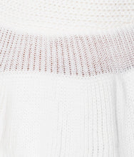 Load image into Gallery viewer, 'Taylor' Cream Frill Jumper