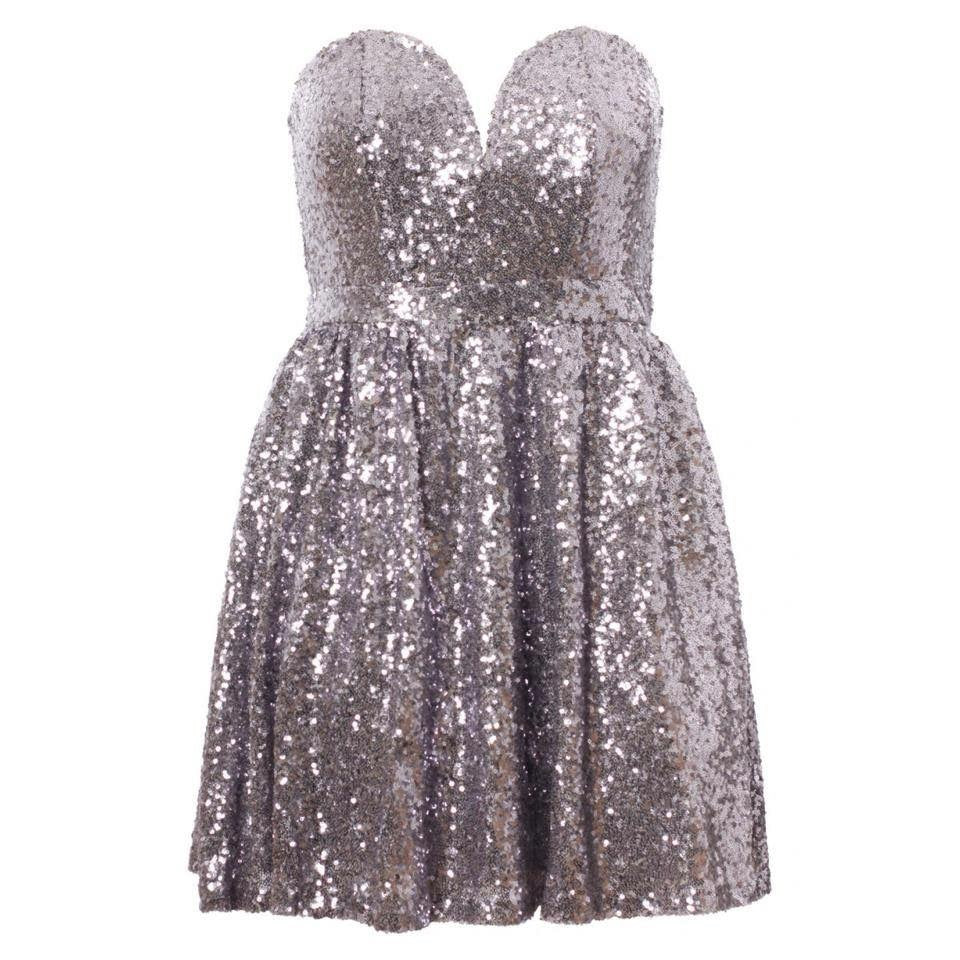 'Kayleigh' Sequin Bodice Party Dress