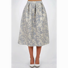Load image into Gallery viewer, 'Gina' A-Line Midi Skirt