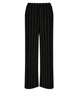 'Angelina' Pinstripe Crop Trousers