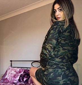 'Meggy' Camo 2 Piece
