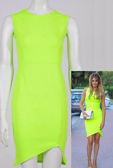 'Chloe' Neon Chloe Simms Inspired Dress