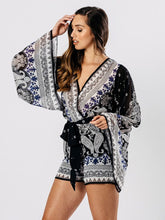 Load image into Gallery viewer, 'Nahla' Boho Festival Playsuit