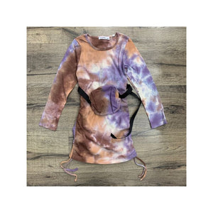 'Lottie' Tie Dye Dress & Bumbag KIDS