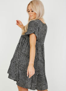 'Darcy' Polka dot Smock Dress