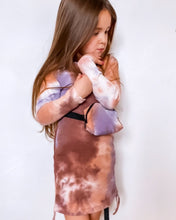 Load image into Gallery viewer, 'Lottie' Tie Dye Dress & Bumbag KIDS