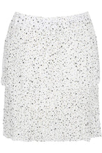 Load image into Gallery viewer, 'Jessie' White Frill Detailed Skirt