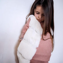 Load image into Gallery viewer, 'Evie' Cream Faux Fur Gilet KIDS