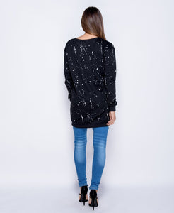 'Amelia' Splash Sweatshirt