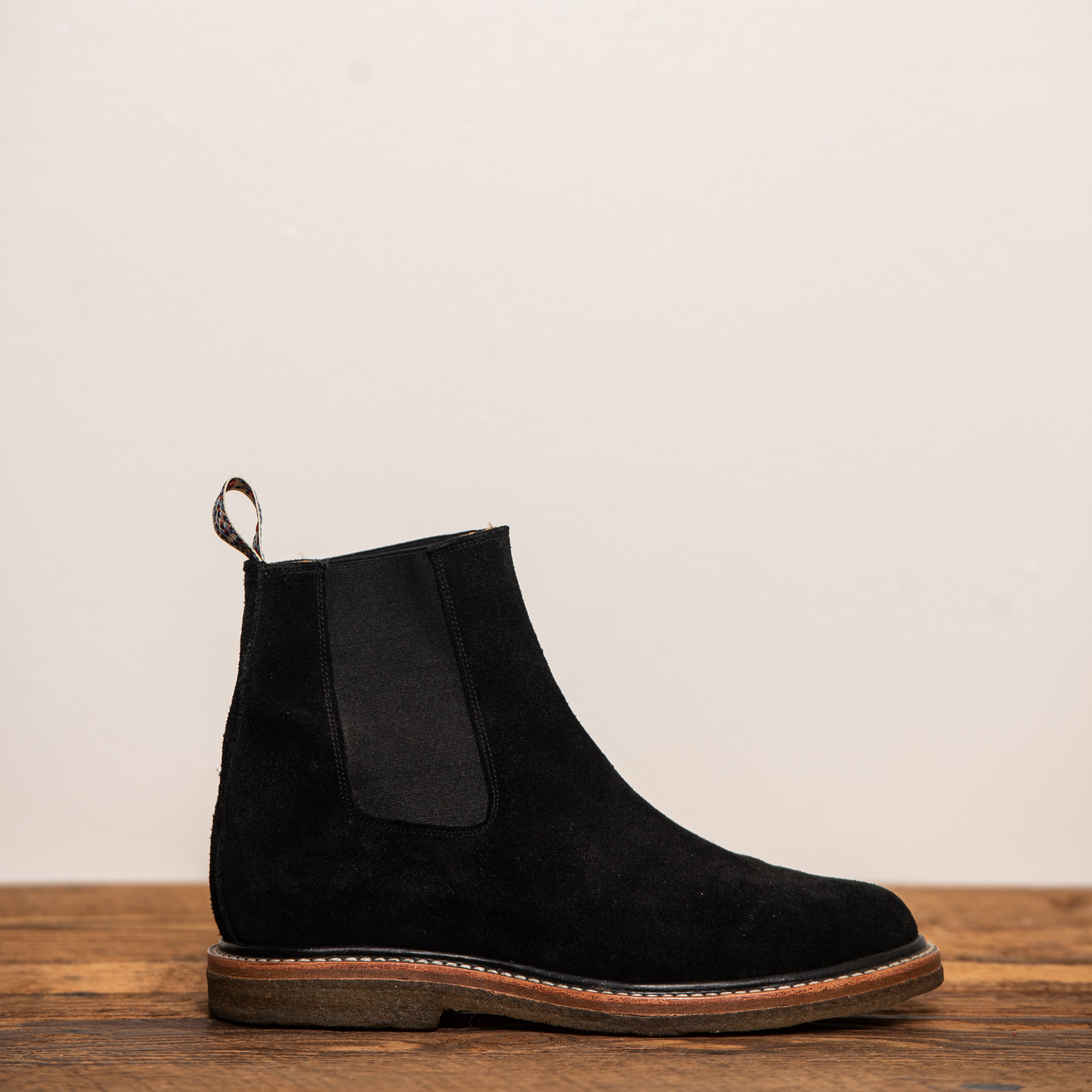 Unmarked Black Suede Chelsea