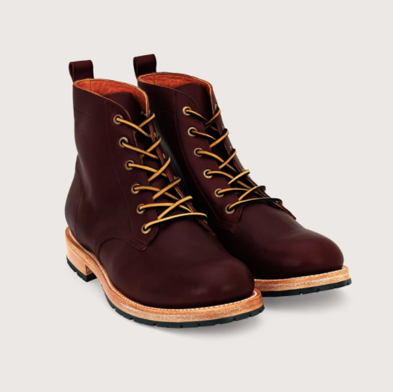 Detroit Boot - Mahogany