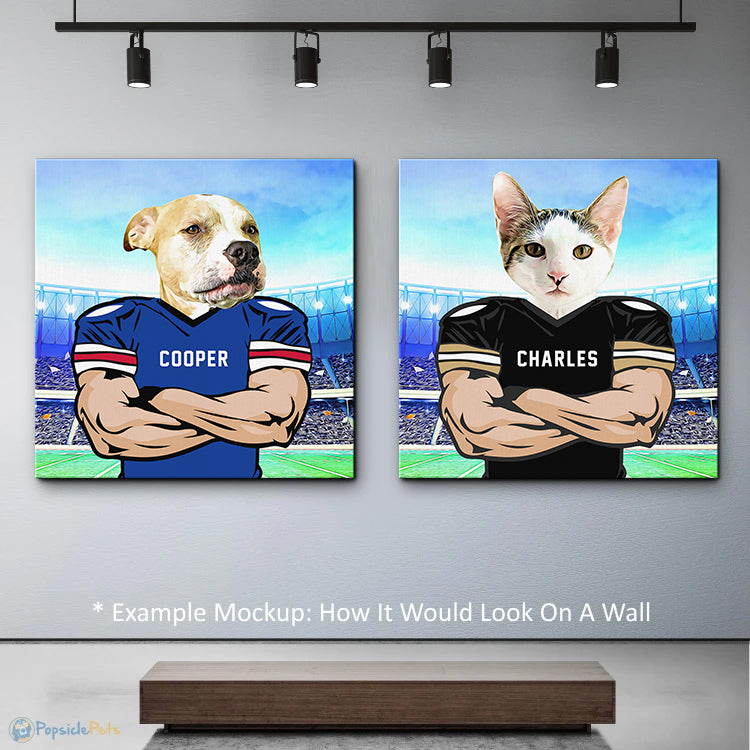 turn your pet into a football player