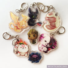 Load image into Gallery viewer, Smol Babies Keychains