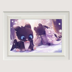 HTTYD Babies poster