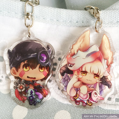 Made in Abyss keychains