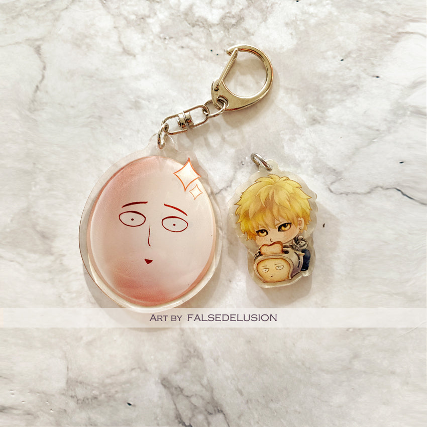One Punch Keychains