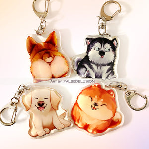 Good Doggos Keychains
