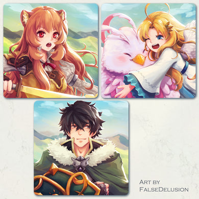 Shield Hero square prints