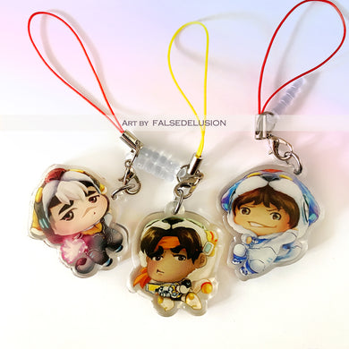 Voltron Charms