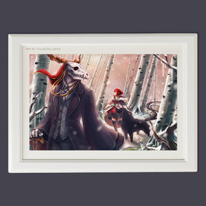 Ancient Magus Bride Winter poster