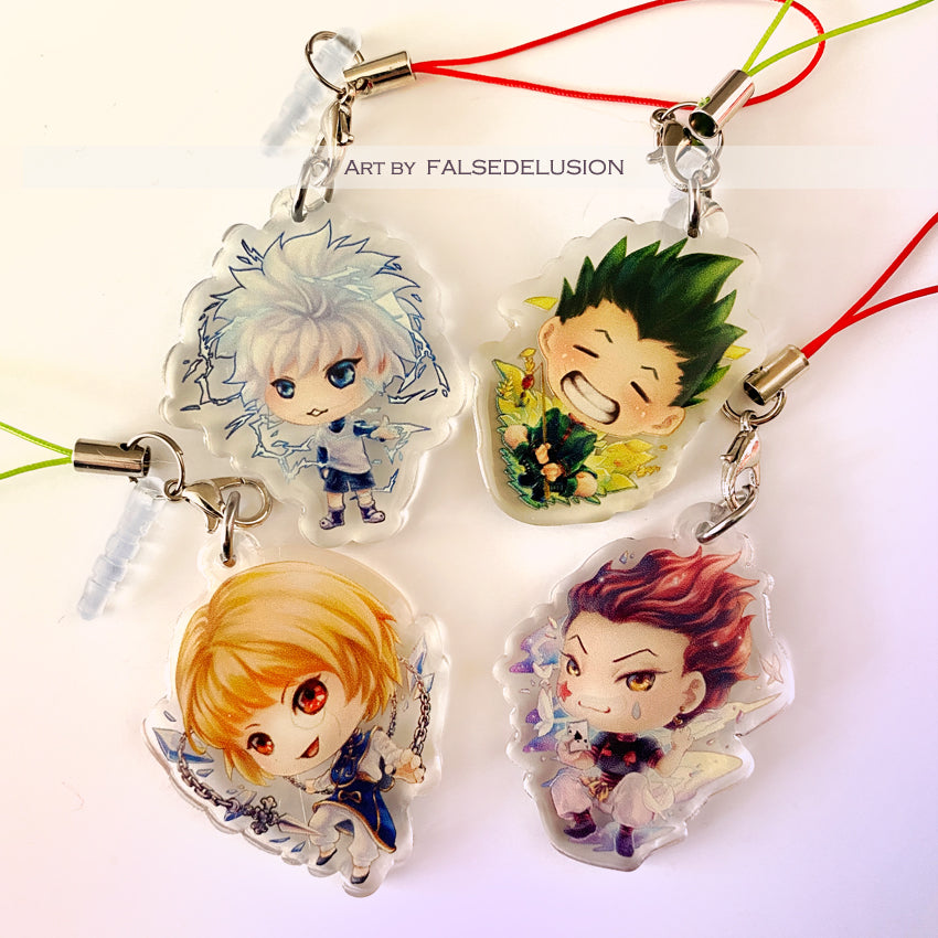 Hunter x Hunter Keychains