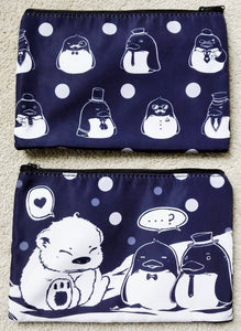 Confused polar bear penguin pouch