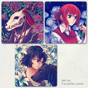 Ancient Magus Bride square prints