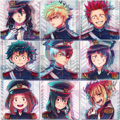Boku no Hero square prints
