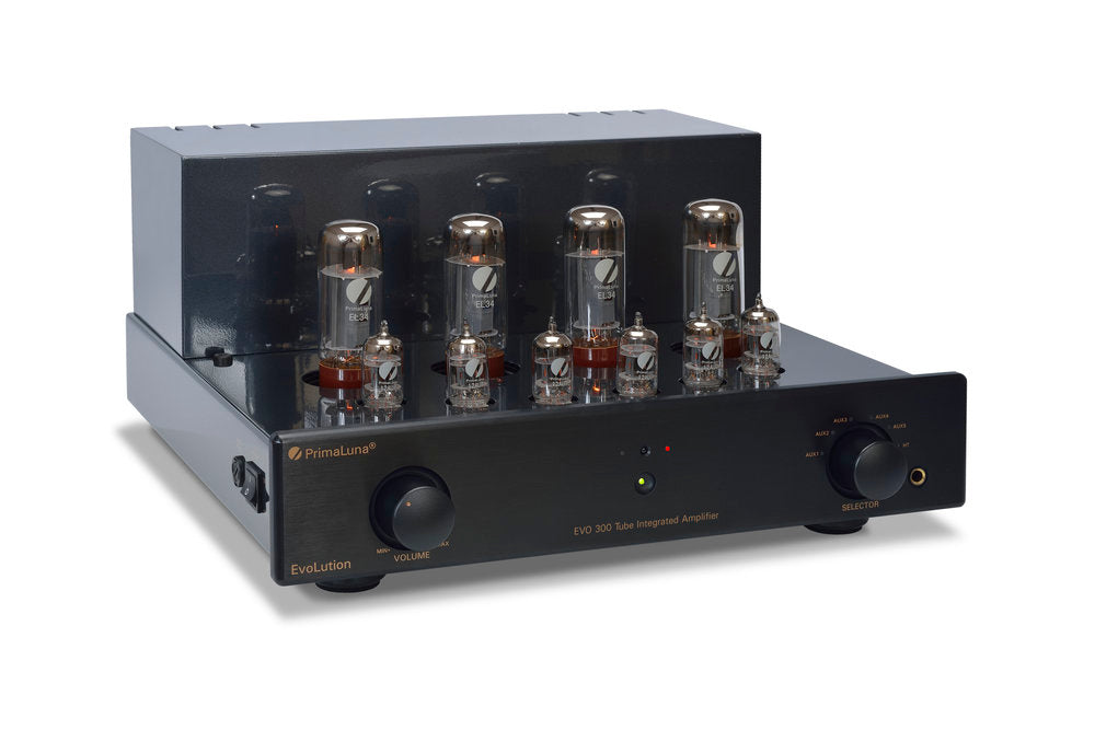 PrimaLuna EVO 300 Valve/Tube Integrated Amplifier Black | Douglas HiFi