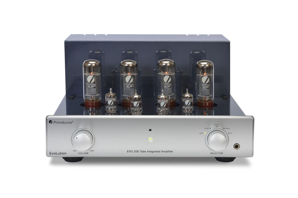 PrimaLuna EVO 200 Tube/Valve Integrated Amplifier - Evolution Front No Cage - Douglas HiFi