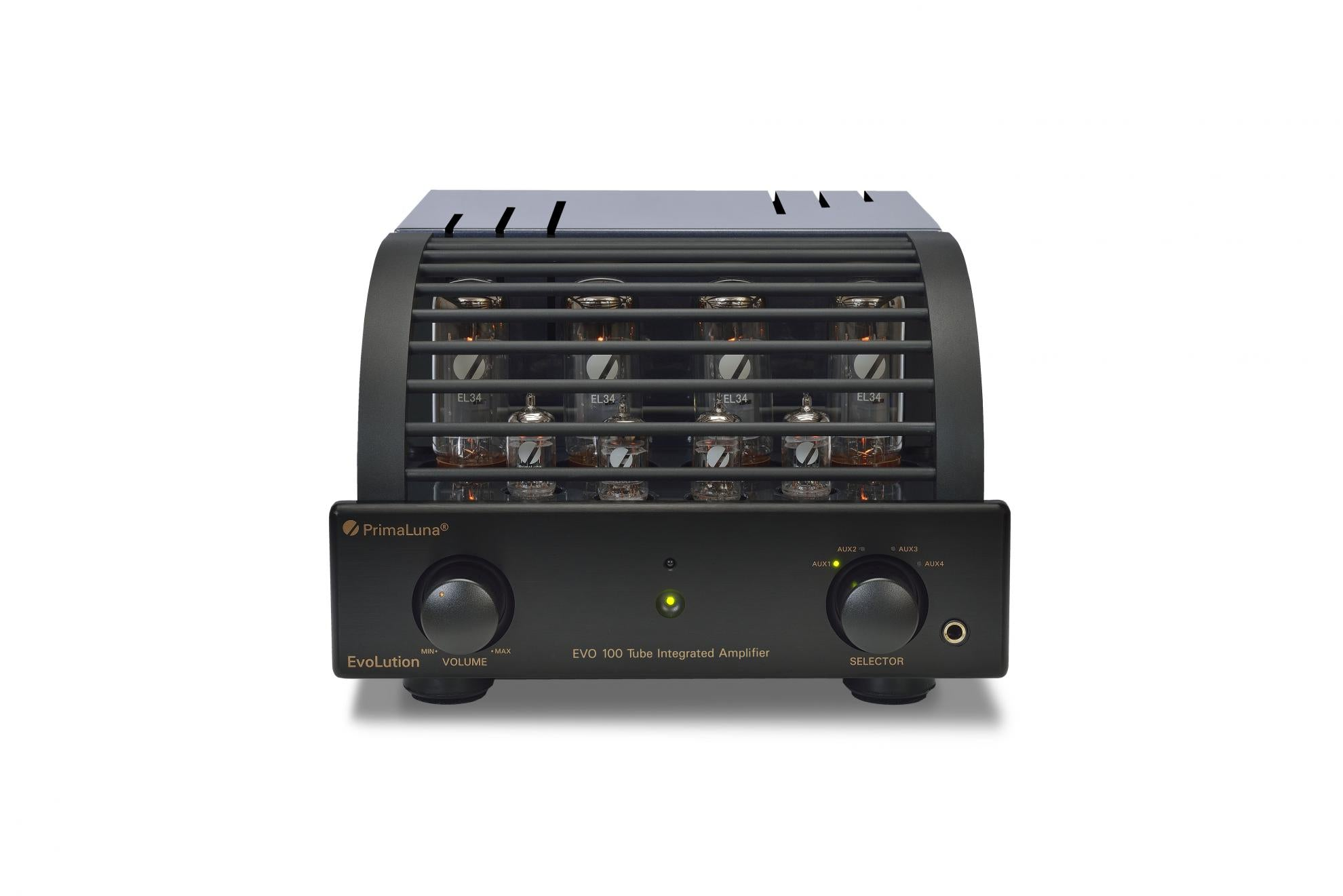 PrimaLuna EVO100 Valve/Tube Integrated Amplifier Black 3 | Douglas HiFi