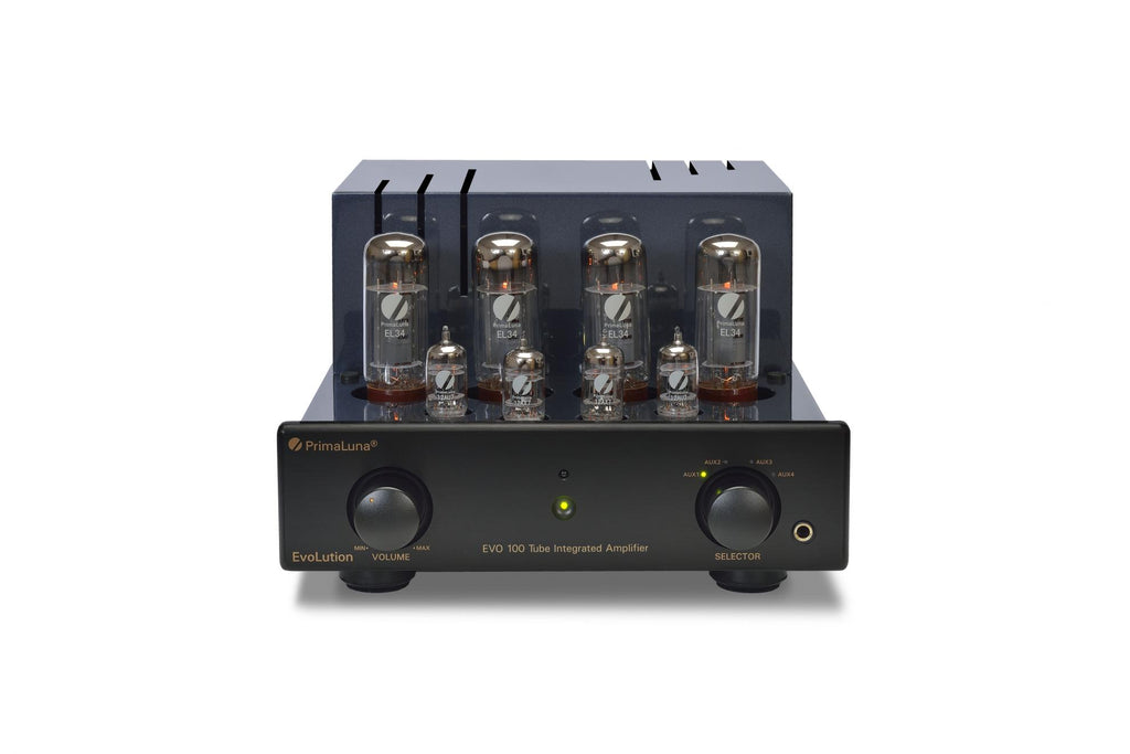 PrimaLuna EVO100 Valve/Tube Integrated Amplifier Black | Douglas HiFi