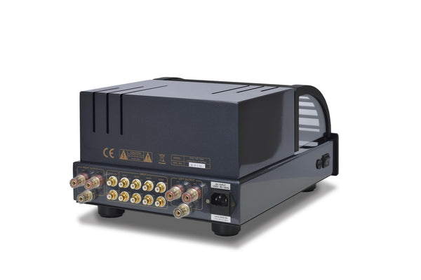 PrimaLuna EVO100 Valve/Tube Integrated Amplifier Black (Rear) | Douglas HiFi