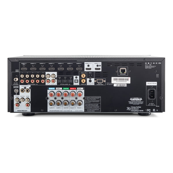 Anthem MRX520 5.2 channel 4K AV Receiver (rear) - Douglas HiFi