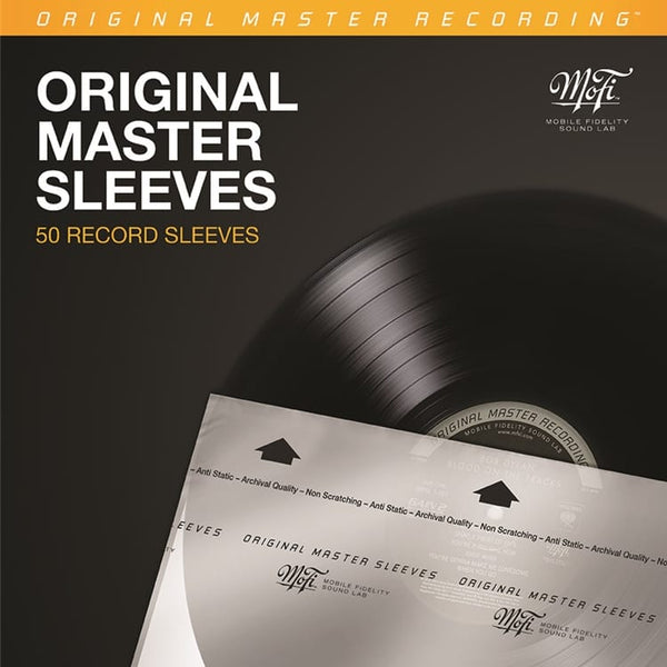 MoFi - Original Master Record Inner Sleeves - 50 Pack