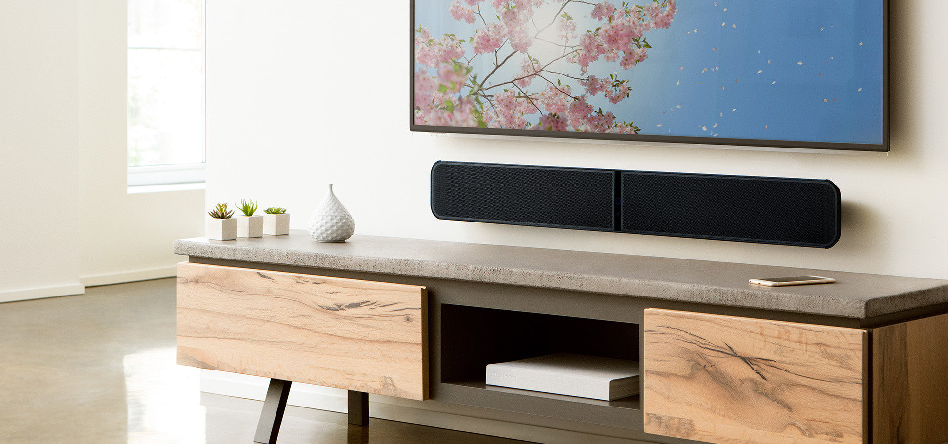 Bluesound - Pulse Soundbar 2i - Network BluOs Streaming Soundbar