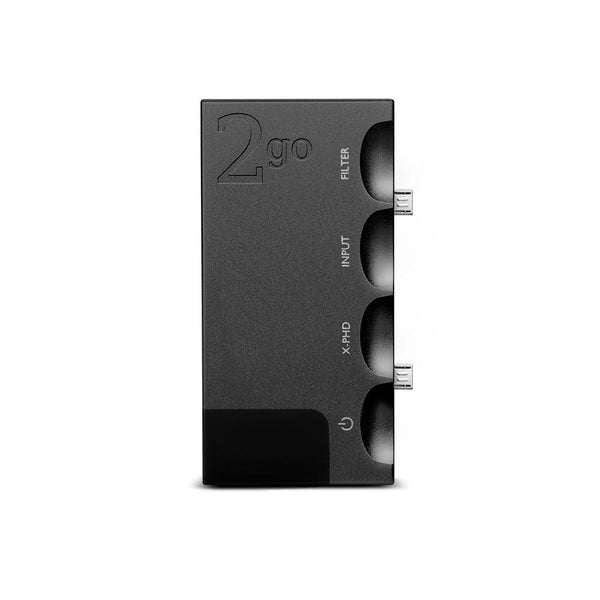 Chord Electronics 2go adds wired/wireless streaming to the Chord Electronics Hugo2 dac/amp - availablein black or Silver
