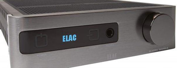 Elac EA101EQ Amplifier (Front View 3) | Douglas HiFi