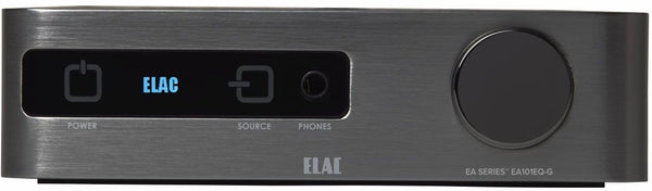 Elac EA101EQ Amplifier (Front View) | Douglas HiFi