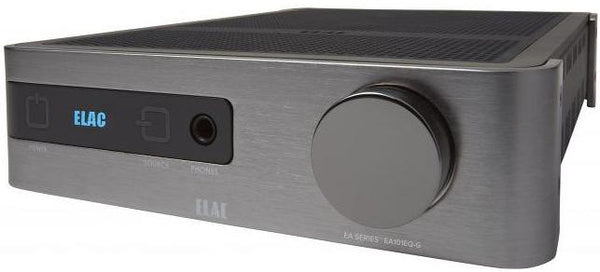 Elac EA101EQ Amplifier (Front View 2) | Douglas HiFi